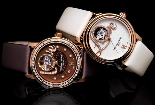 The Frédérique Constant Love Heart Beat Watch